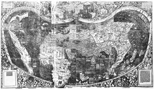 Amerigo Vespucci Map Of America.Americo Vespucci