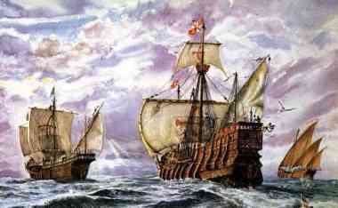 history of the pinta From the spanish port of palos, italian explorer christopher columbus sets sail in command of three ships—the santa maria, the pinta, and the nina—on a journey to find a western sea route to.